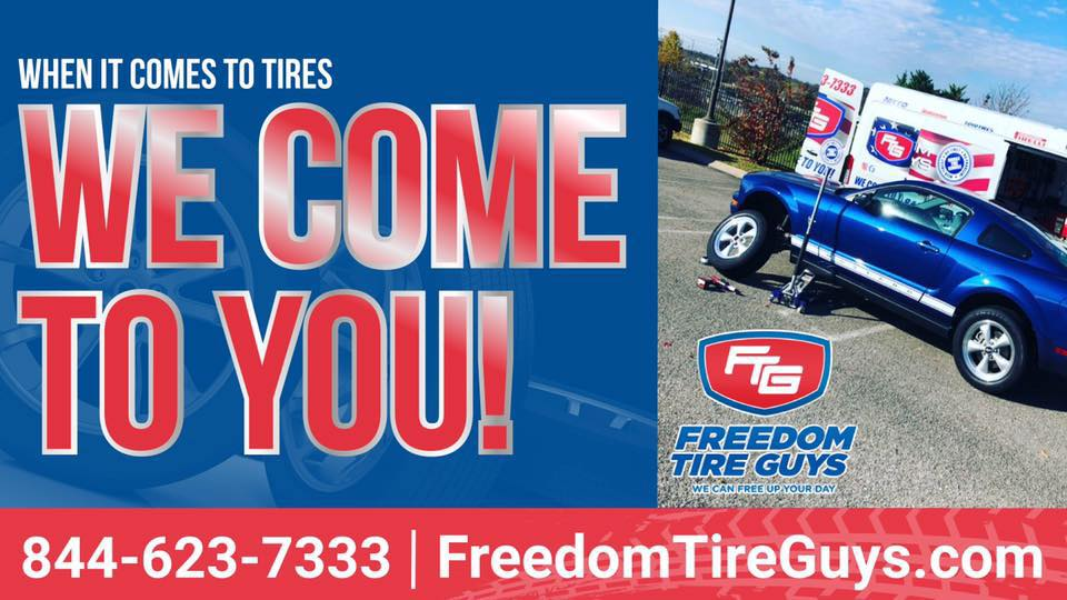 Freedom Tire Guys Banner