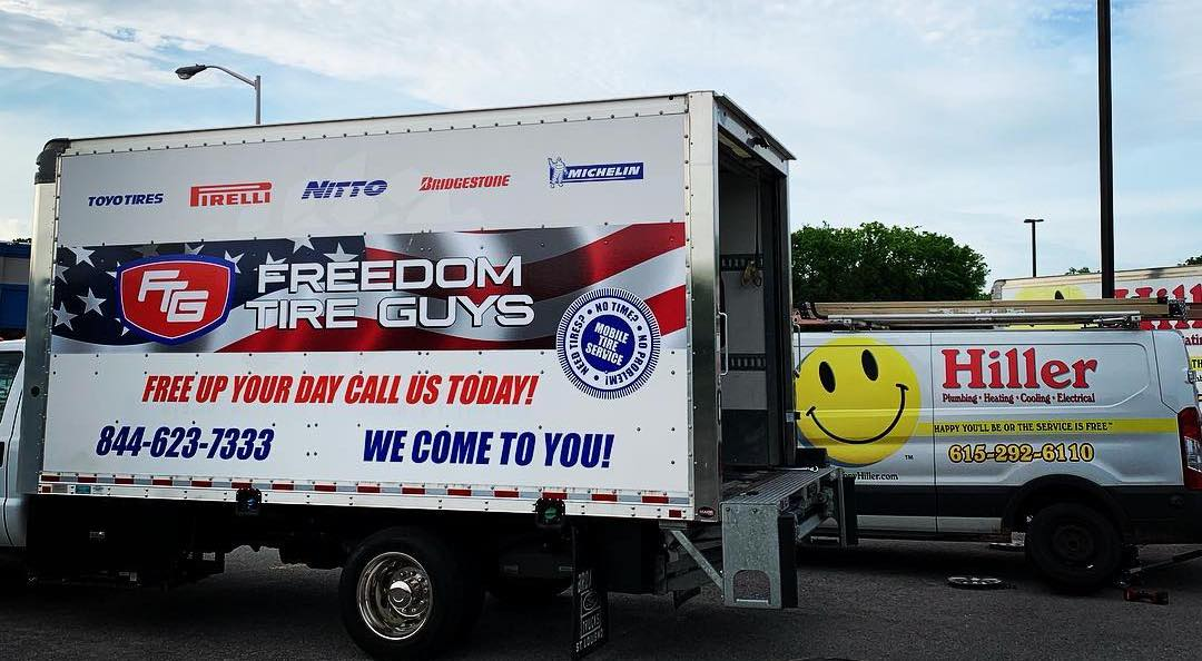 Freedom Tire Guys at Hiller